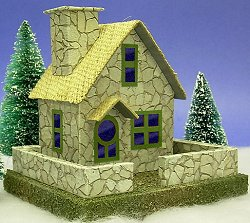 Building a stone cottage a howard 39 s how to from for How to build a stone cottage